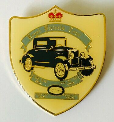 B2.2500 Royale Classic Car Grill Badge Fittings PRAYING KNIGHT ENGLAND