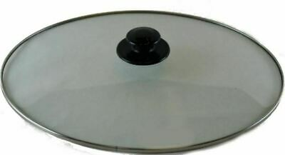 Crock Pot Lid Replacement for Rival 64451LD-C Glass Top Slow Cooker Cover OVAL