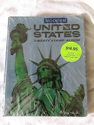 HE Harris Modern United States Liberty Stamp Album for U.S. Stamps 1994-1998 NEW