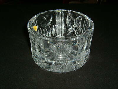 Beautiful Waterford Crystal Millennium Champagne Wine Coaster Rare