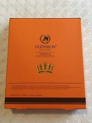 Guerisson 9 Complex Horse Oil Hydrogel Gold Mask 6 Sheets