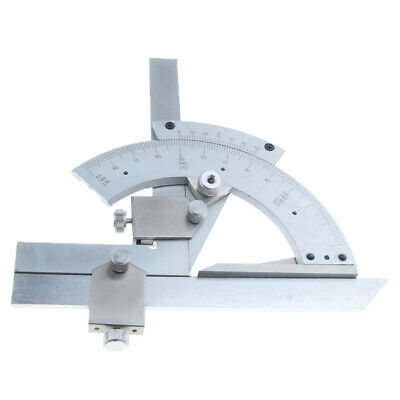 320° Degree Stainless Steel Bevel Protractor Angle Ruler Precise Measuring