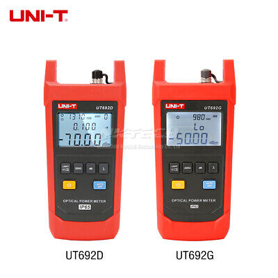 UNI-T Optical Power Meter Wavelength InGaAs Backlight IP-65 Professional Tester