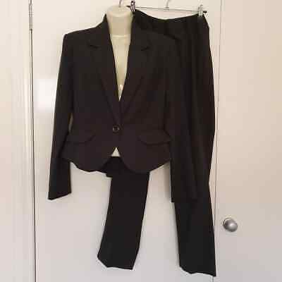 New with tags Size 8 Khoko Black Office ladies suit blazer pants
