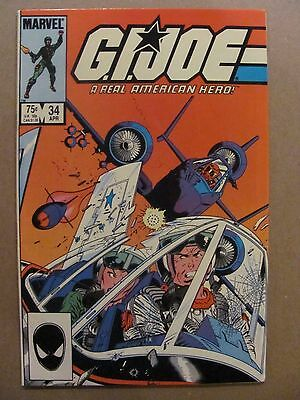 GI Joe A Real American Hero #34 Marvel Comics 1982 Series 9.2 Near Mint-