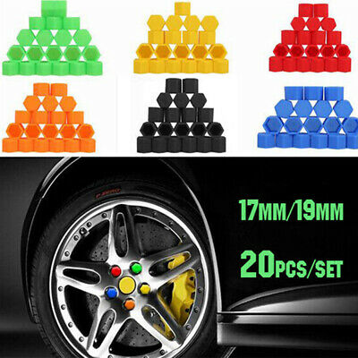 20pcs Vehicle Car Silicone Wheel Nuts Covers Screw DUST Protective Caps New
