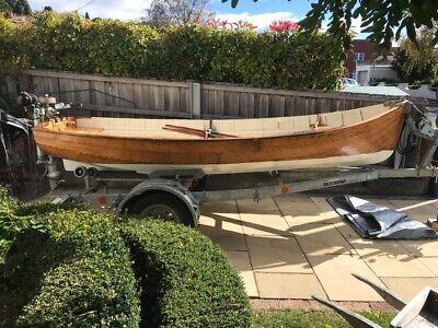 Classic 12 foot clinker dinghy