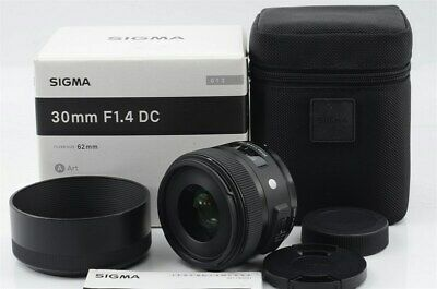 Sigma 30mm F1.4 Art DC HSM Lens for Nikon [Very Good] from Japan (88-E06)