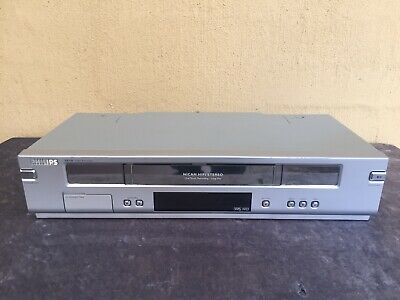 Serviced Philips VR-740 Hifi Stereo Video Recorder Player NO REMOTE Player VCR