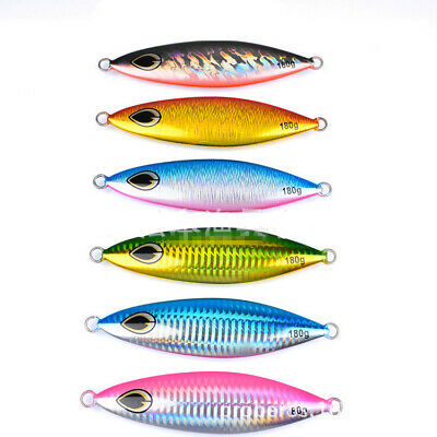 5pcs Micro Jigs Butterfly Metal Jig Luminous Fishing Lure 30g Snapper Slow Lures