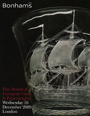 Fine British & European Glass & Glass Paperweights Auction Catalogue