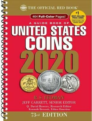 A Guide Book of United States Coins 2020 73rd Edition Jeff Garrett TOP SELLING