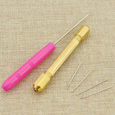 6PCS BJD Doll Hair Rooting Reroot Needle Reborn Tool Kits Hair transplanter DIY