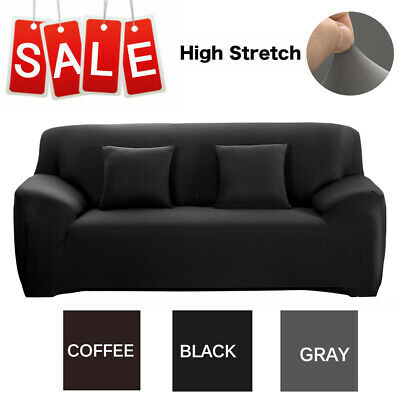 Stretch Fit Sofa Cover Lounge Couch Removable Slipcover Protector1 2 3 4 Seater