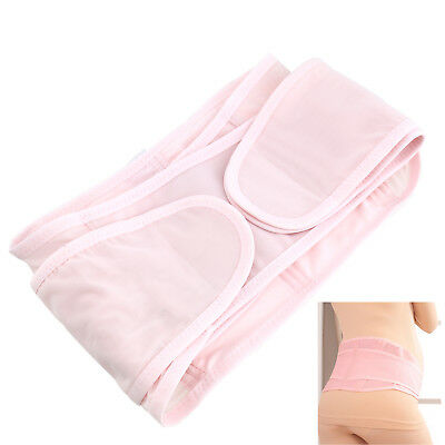 Maternity Pregnancy Belly Belt Postpartum Recovery Tummy Support Strap Pink