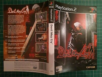 Devil May Cry (Sony PlayStation 2) PAL UK Inlay Only Free Postage