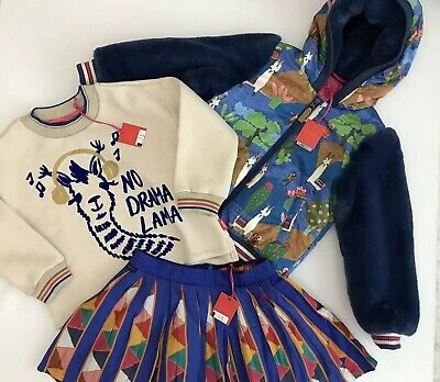 Oilily Girls Outfit Coat Skirt And Long Slevve Top BNWT  RRP £253 NOW £126 ‼️‼️