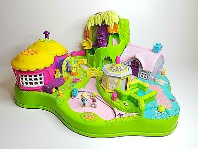 Polly Pocket MAGICAL MOVING FAIRYLAND / Jardin enchanté Blue Bird 1997 vintage