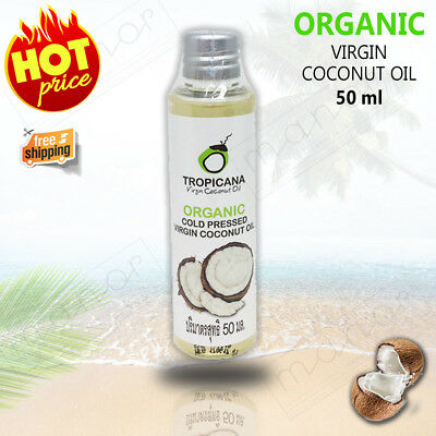 New Virgin Coconut Oil Thai Organic Cold Pressed For Healthy Hair, Massage, Skin