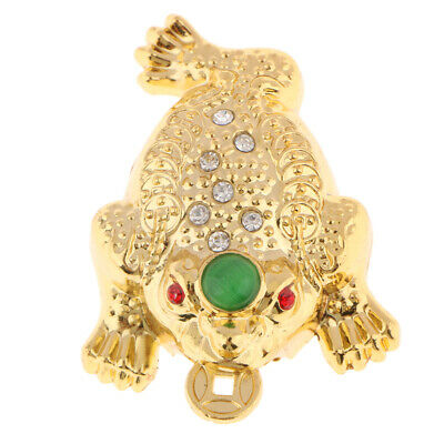 Feng Shui Money LUCKY Fortune Wealth Oriental Chinese Toad Decor Ornaments S