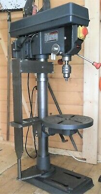 Bench Pillar Drill Clarke CDP301B, with special vertical alignment track, VGC