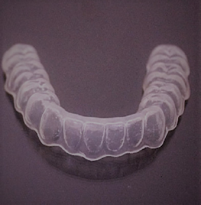CUSTOM FIT DENTAL Orthodontic Essix Retainer LOWER ONLY+ Free case