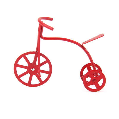 Dollhouse Miniatures 1:12 Scale Red Tricycle #IM66020
