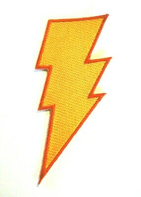DC Comics Shazam! Logo Embrodiered Patch -new