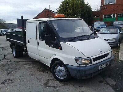 2003 Ford Transit Double Cab Tipper Ready For Work! Long Mot! Reliable Worker!
