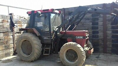 Tractor and loader case 856xl 4wd 7500 hours
