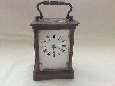 Early 1800 Antique A.c.c Brass Carriage Clock For Restoration