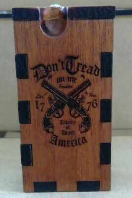 one hitter dugout ,pipe ,stash box,smoking pipe,custom ,hitter box,engraved