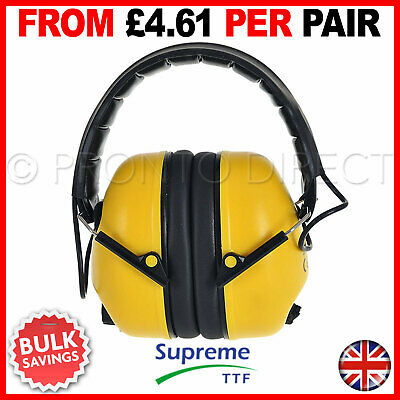 Folding Pro Ear Defenders Protection Foldable Compact Style Noise Reduction Muff