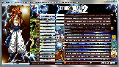 DRAGON BALL XENOVERSE 2 Bypass Anti EAC Ver. 1.13.00 Cheats Trainer Mod Software