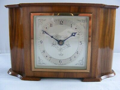 Vintage Elliot 8 Day Non Striking Mantel Clock