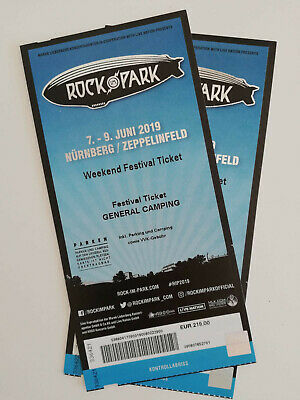 Rock im Park 2019 - 2x Weekend Festival Tickets incl. General Camping je 220,-
