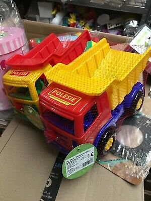 Wholesale toys JobLot LARGE Dump Truck Sand Toys Beach Car Boot 190 TRUCKS!!!
