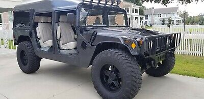 1980 Hummer H1  1994 hummer h1 M998 street legal Former military Free delivery ! Please read!!