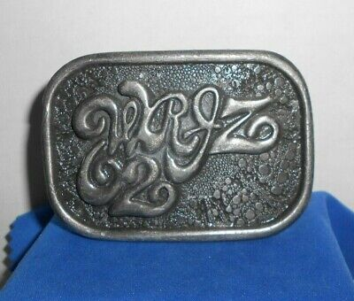 1976-1977 62WJRZ Radio Limited Edition Belt Buckle