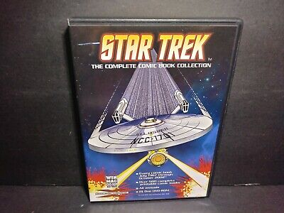 Star Trek Complete Comic Book Collection DVD ROM Windows/Mac B344