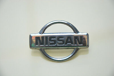Nissan Original Emblem Rear Logo Crome Badge Genuine Factory Oem Factory