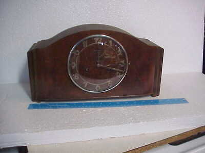 Antique Junghans Art Deco Mantle Clock parts repair D