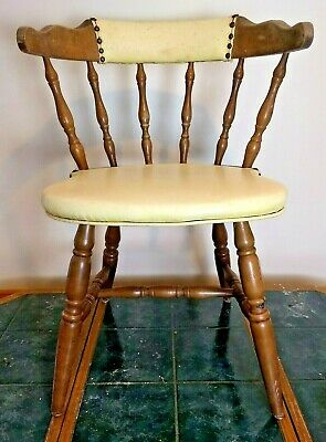 Mid Century Bow Chair, Smokers, Captains, Kitchen Chair Amesbury Chair Company