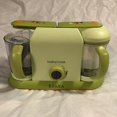 Beaba Babycook Pro 2X Sorbet Green Food Maker and Steamer Electric Appliance
