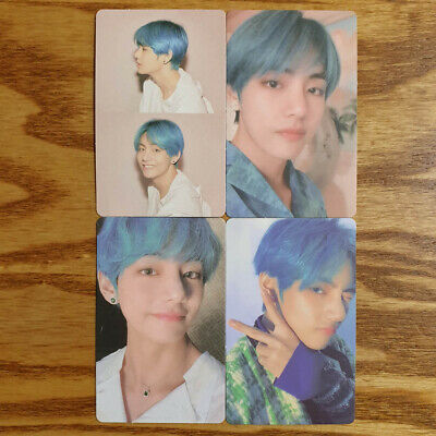 V Official Photocard 4 pcs Set BTS Map Of The Soul : Persona Genuine Taehyung