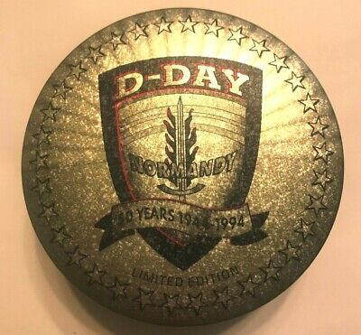 Zippo Lighter D Day Normandy 50 Years 1944-1994 Limited Edition - New