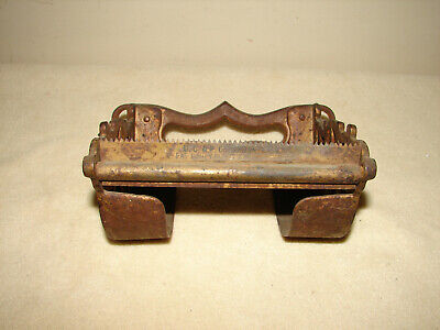 Victorian Antique Bathroom Cast Iron Toilet Paper Holder UP&C Co. Boston