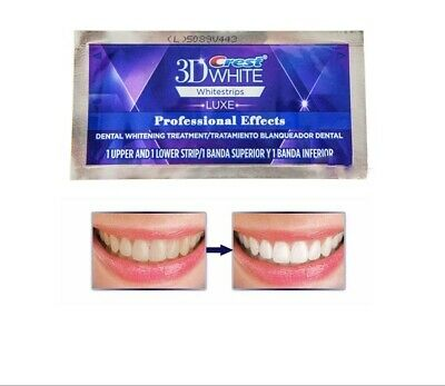 Blanchiment 3D Whitestrips - Effets Professionnels - [20 bandes][10 sachet]