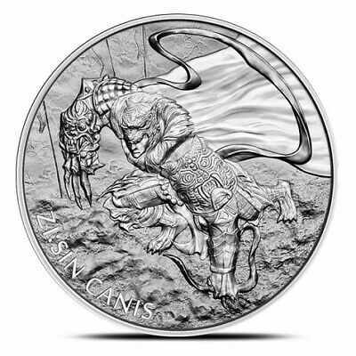 2018 South Korea 1 oz Silver ZI:SIN Canis | .999 | Volume Pricing