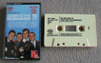 THE VERY BEST OF GERRY AND THE PACEMAKERS music cassette tape